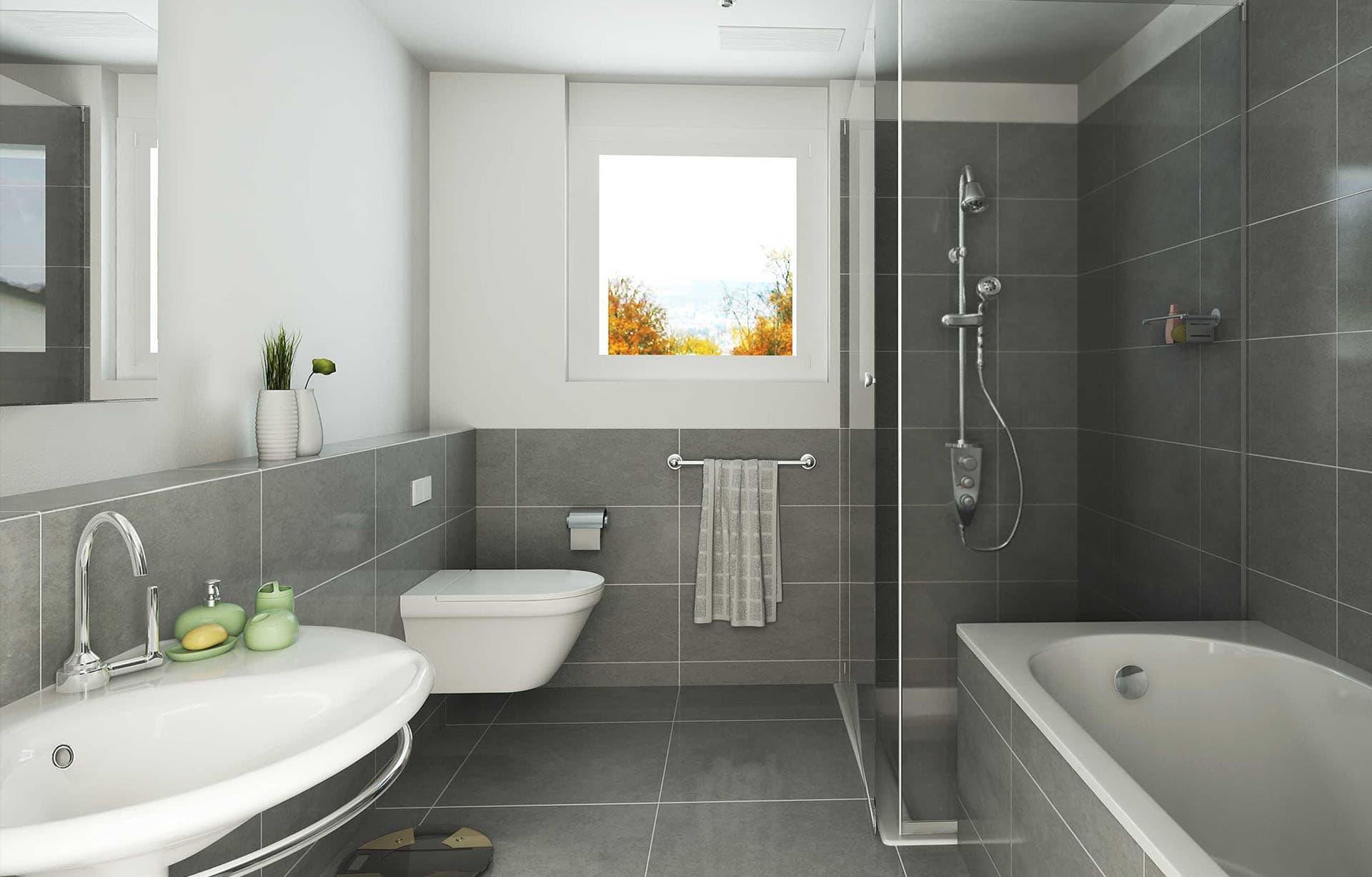 Фото обычный дизайн ванны