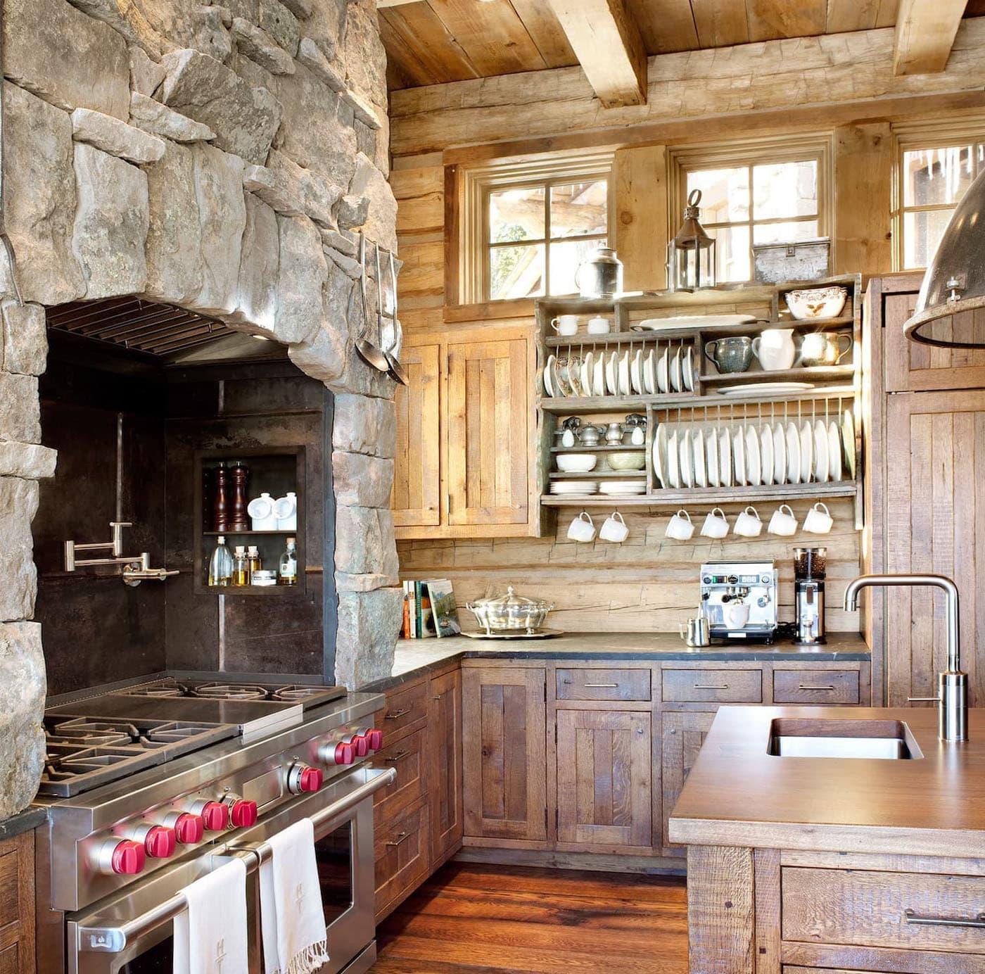 что фото оформления деревенской кухни как селедки бочке