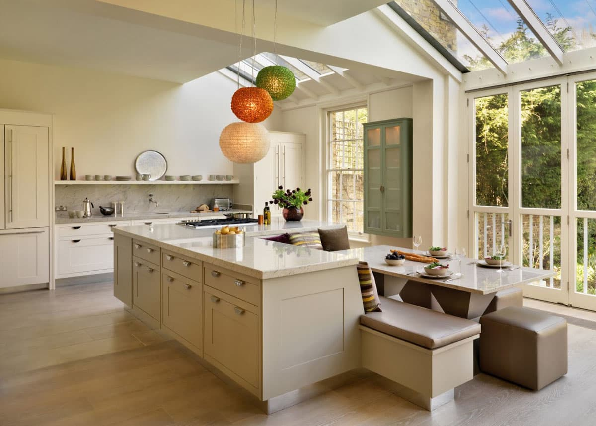 Картинки комнаты в доме кухня