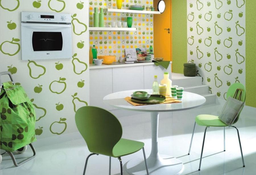 Фото ремонт кухня иобои