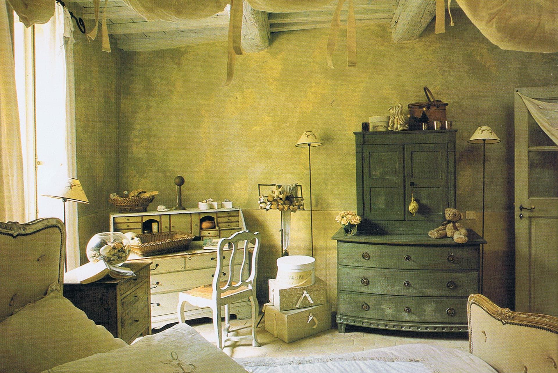 комната в ретро стиле картинки играют