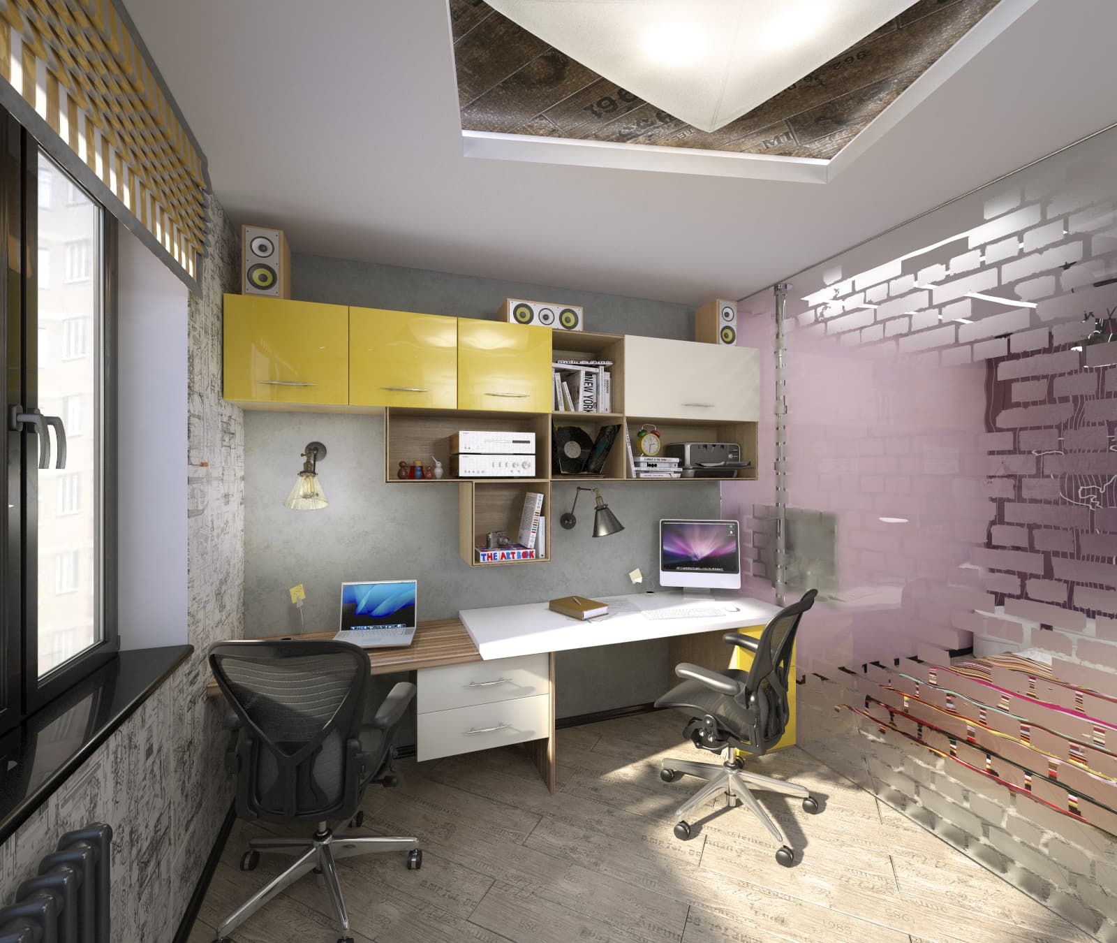 Дизайн-проект квартиры в стиле лофт