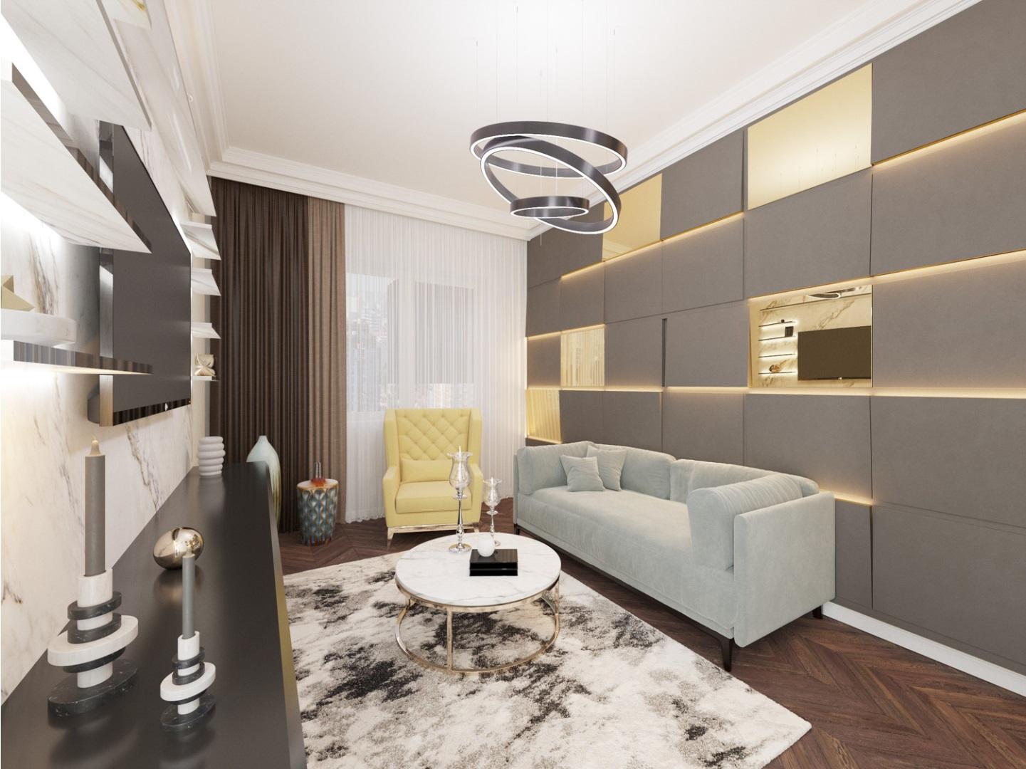Однокомнатная квартира в стиле Эклектика