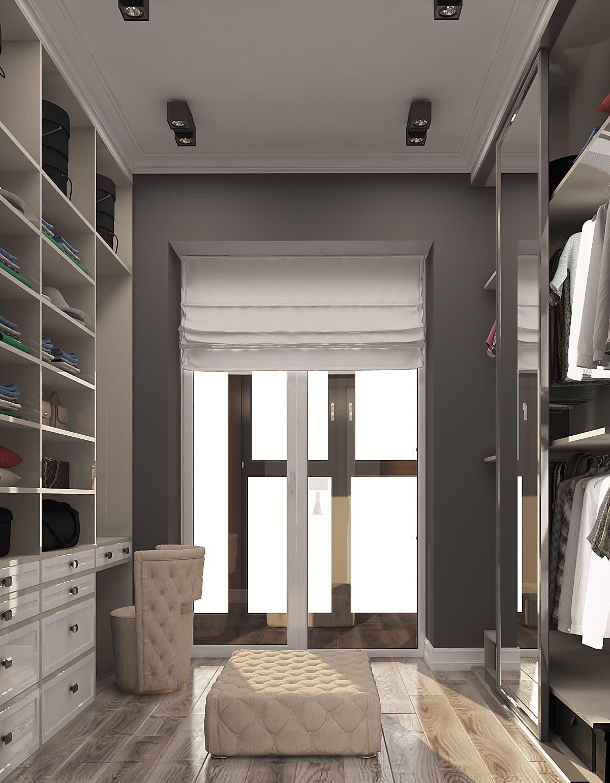 Дизайн-проект интерьера 3-х комнатной квартиры 100 кв. м.