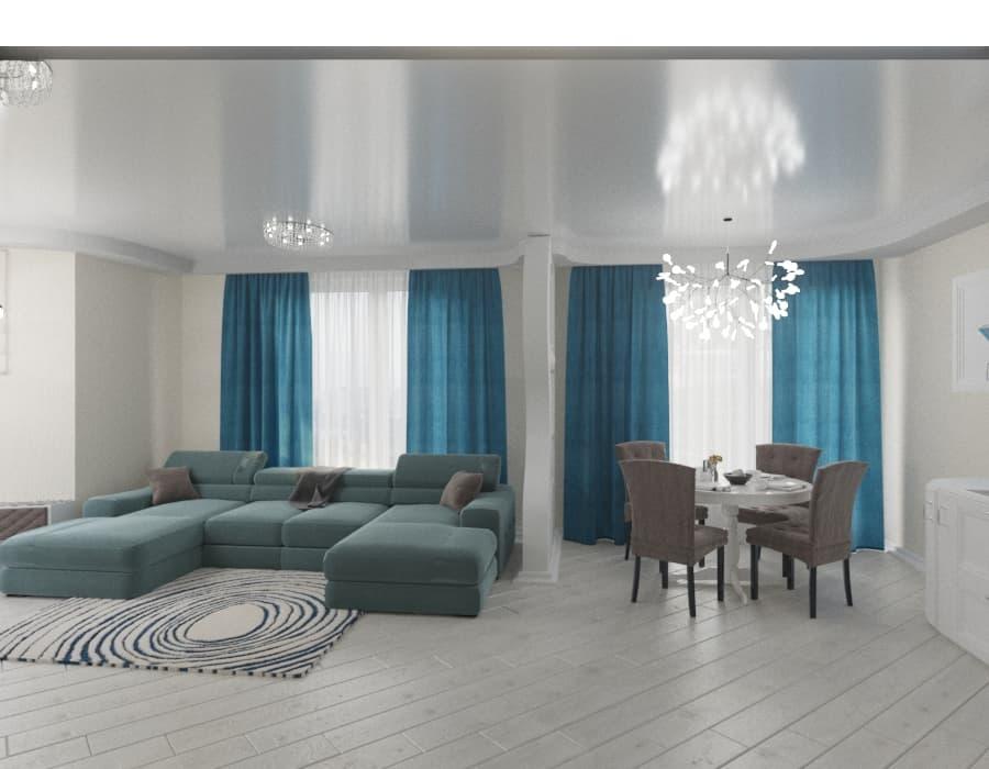 Многокомнатная квартира