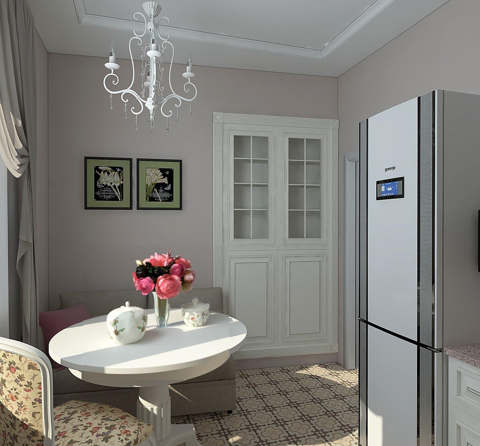Дизайн-проект квартиры в ЖК Спасский мост, Красногосрк