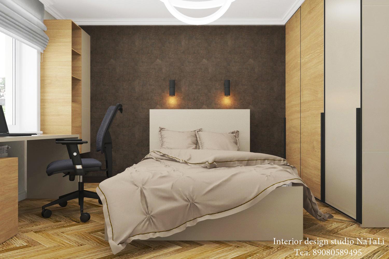 Дизайн интерьера интерьера комнаты для подростка