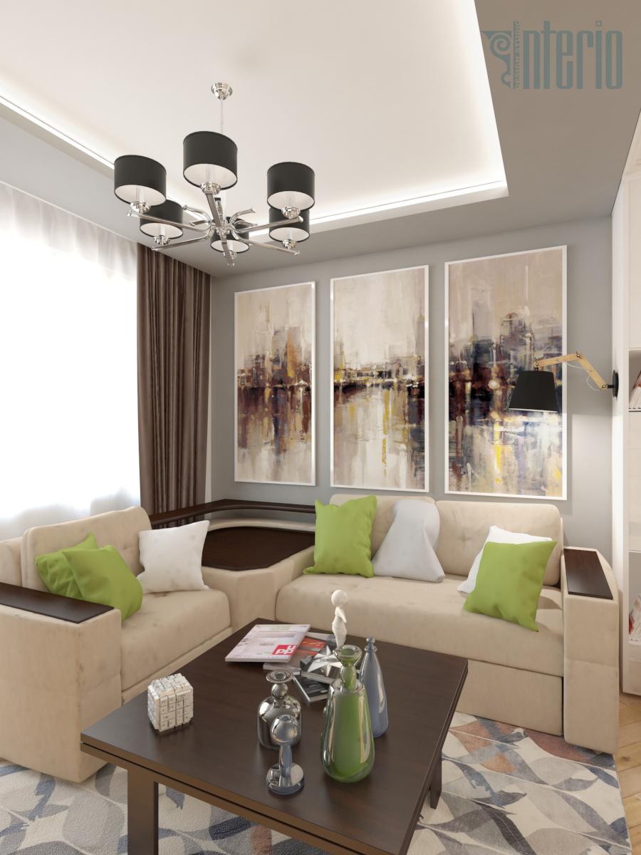 Квартира 75 кв.м.: дизайн-проект