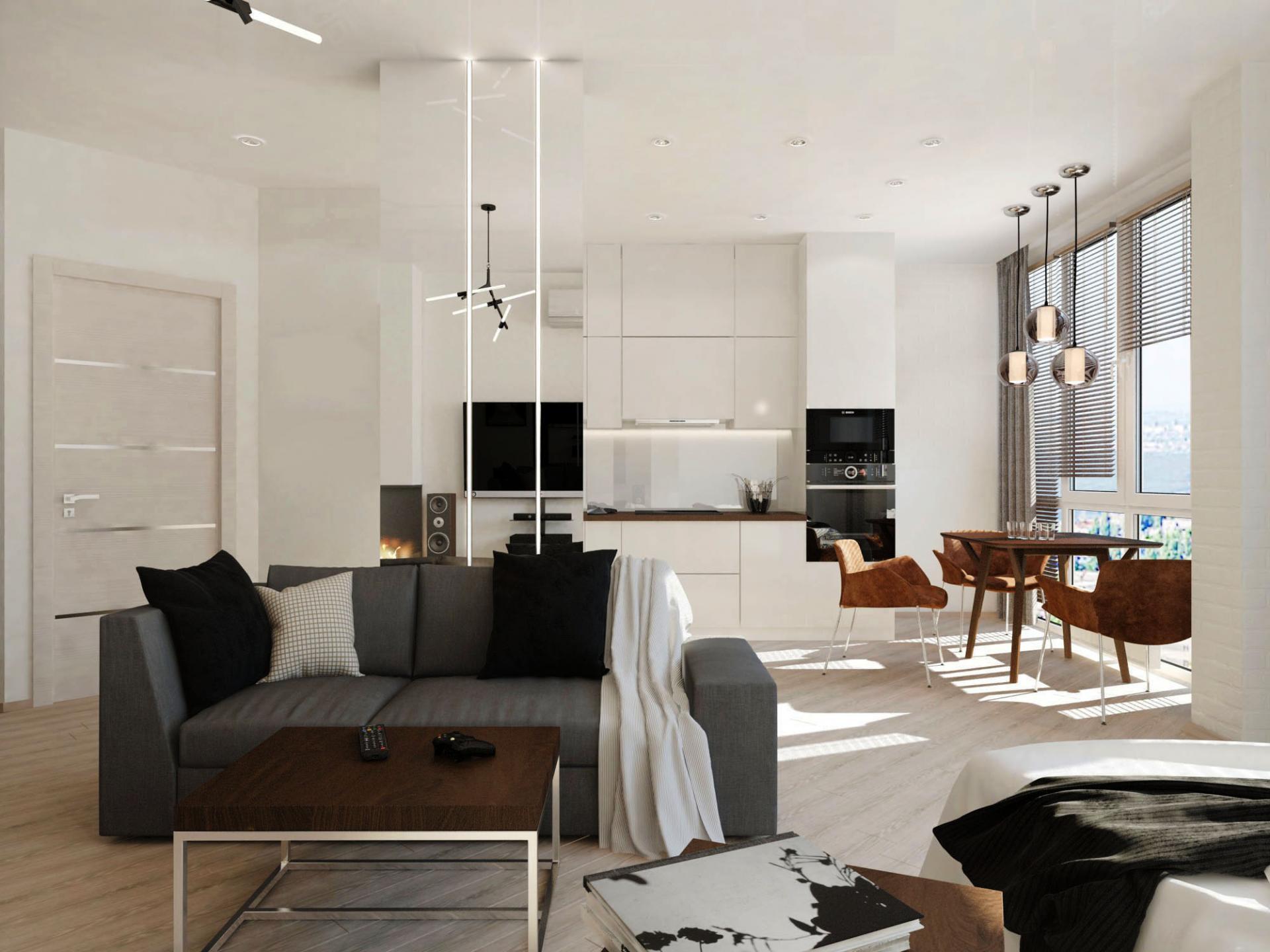 Дизайн-проект для квартиры в ЖК Мичурин