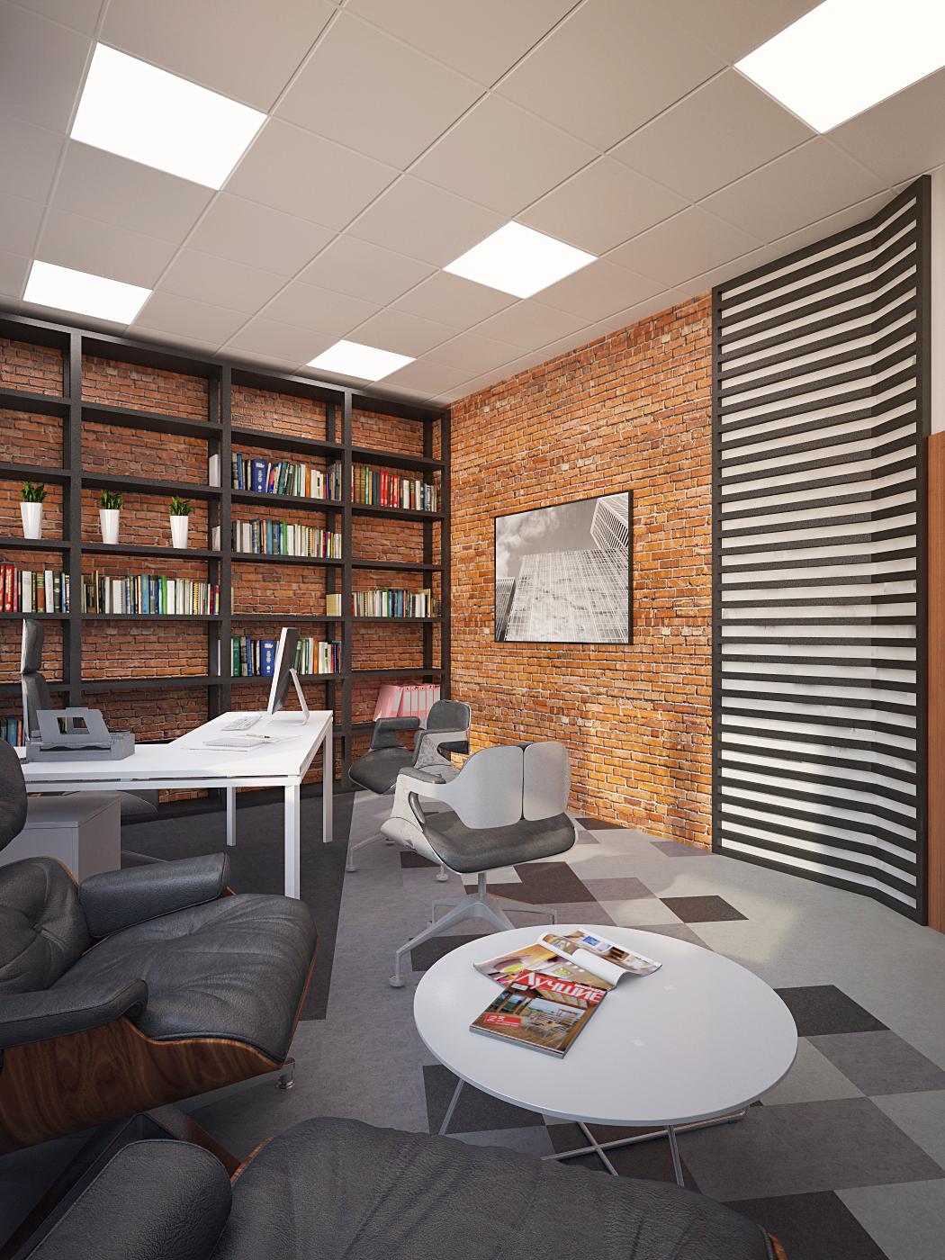 Интерьер IT-офиса для компании NNX