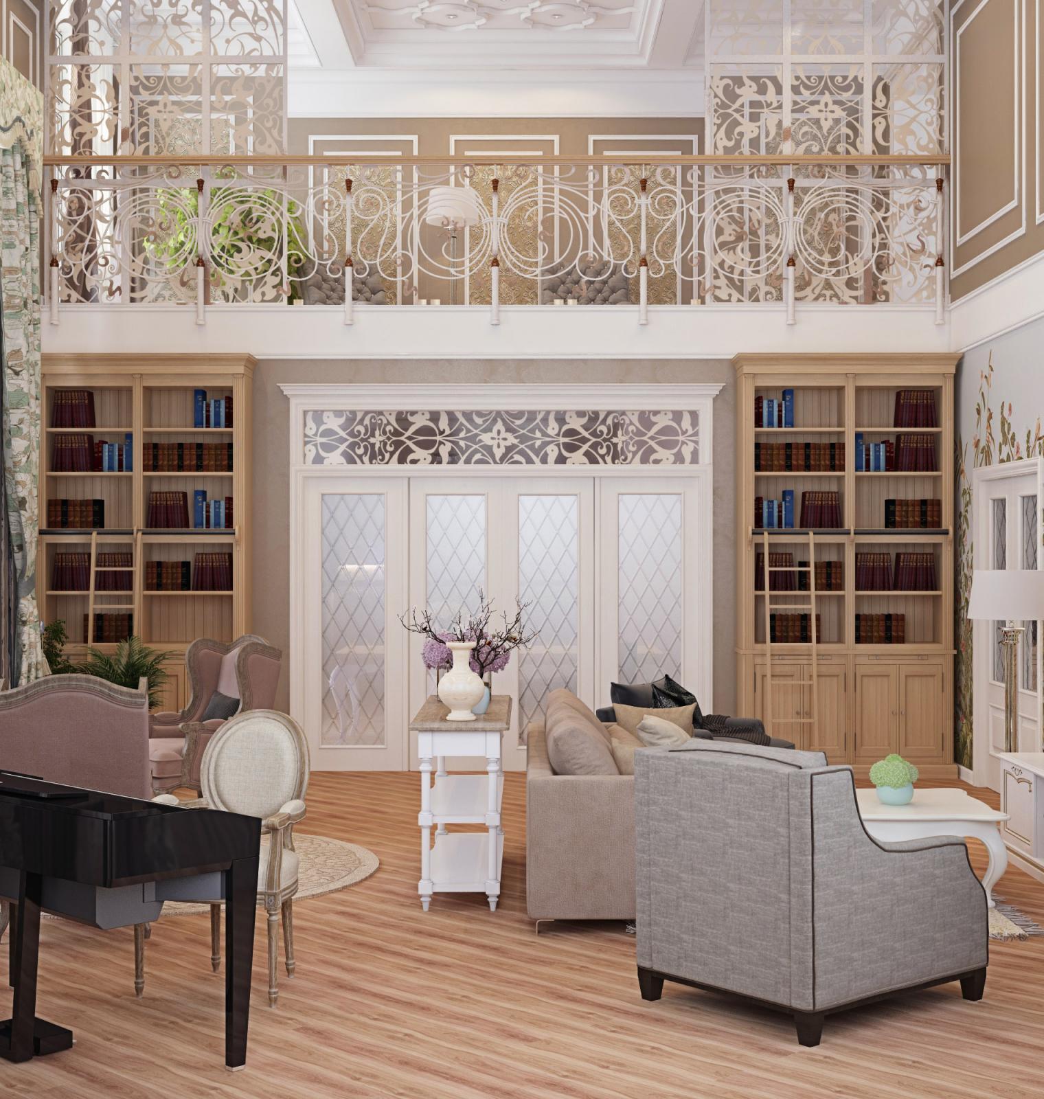 Роскошный особняк в прованском стиле