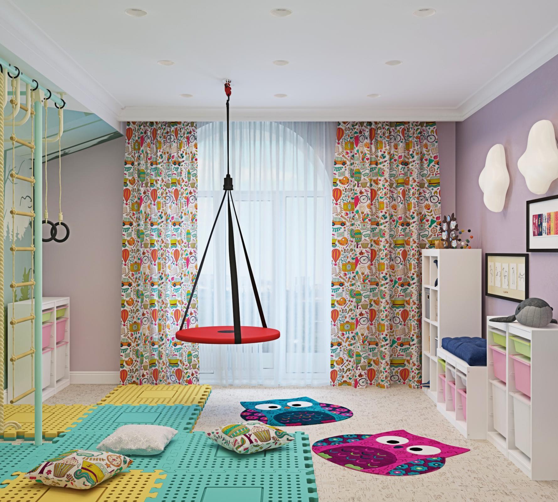 Игровая комната в нескольких вариантах
