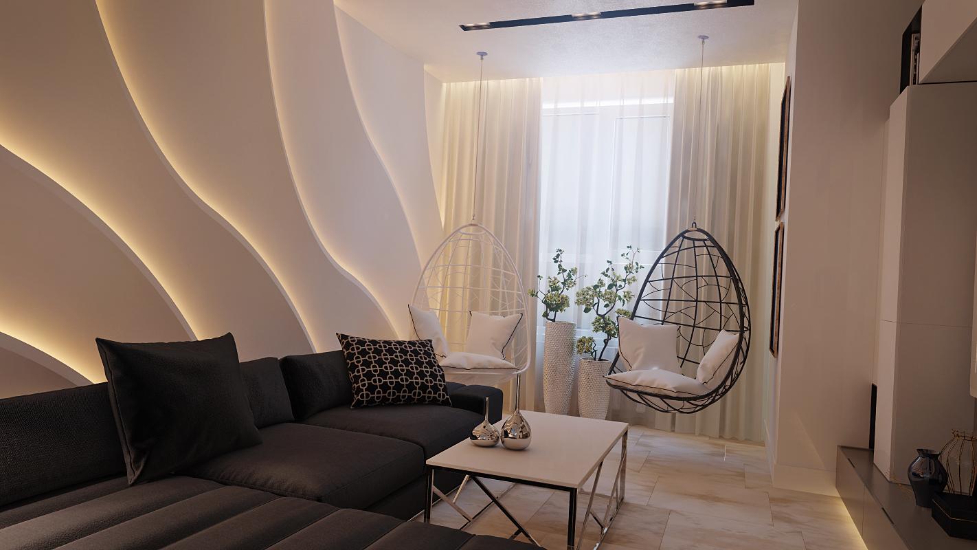 Интерьер квартиры в современной стилистике