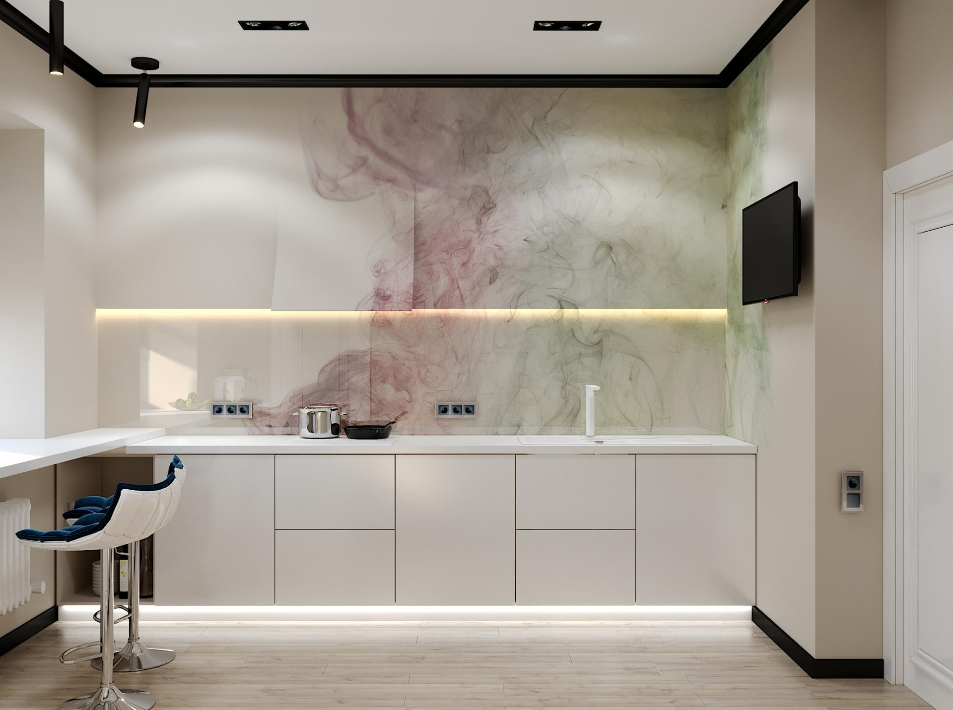 Дизайн кухни 14 кв.м