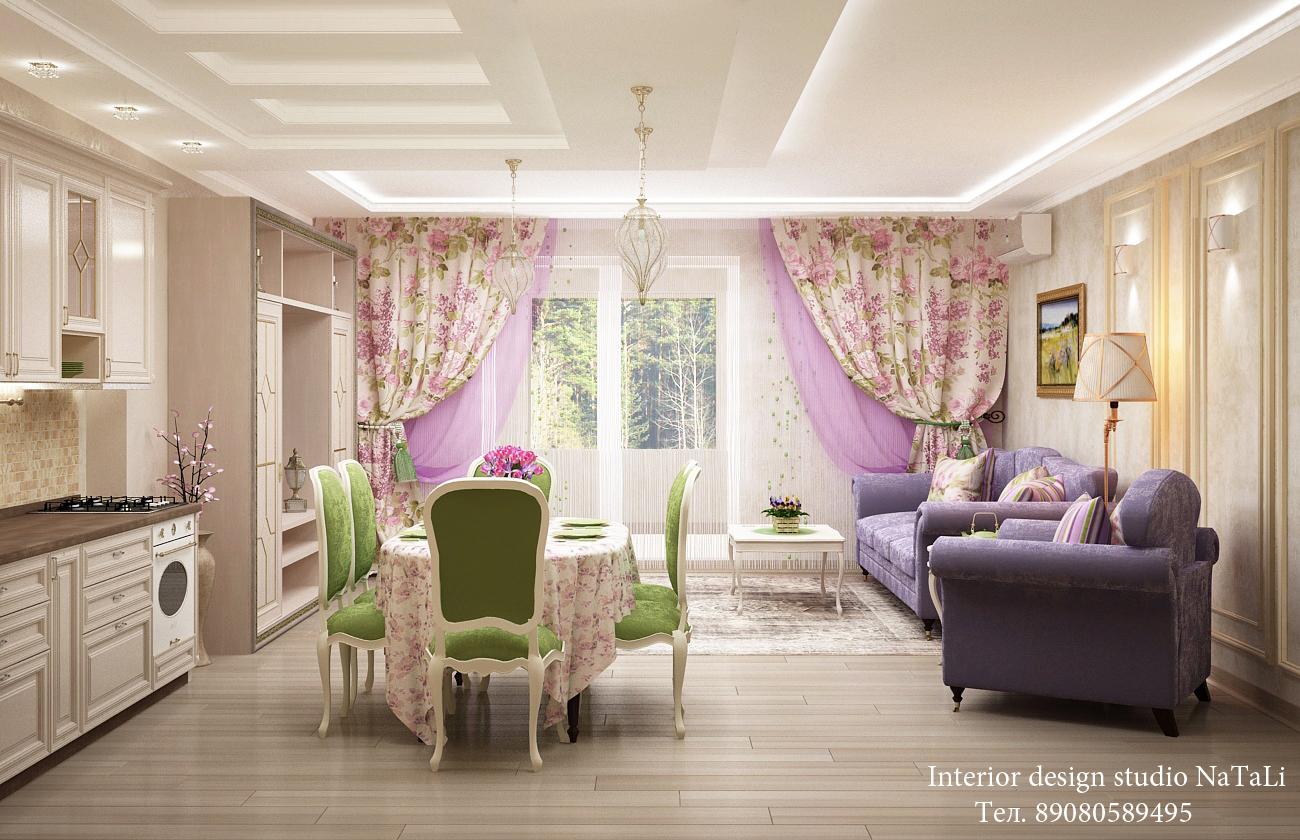 Дизайн интерьера дома в ЖК Благодатово
