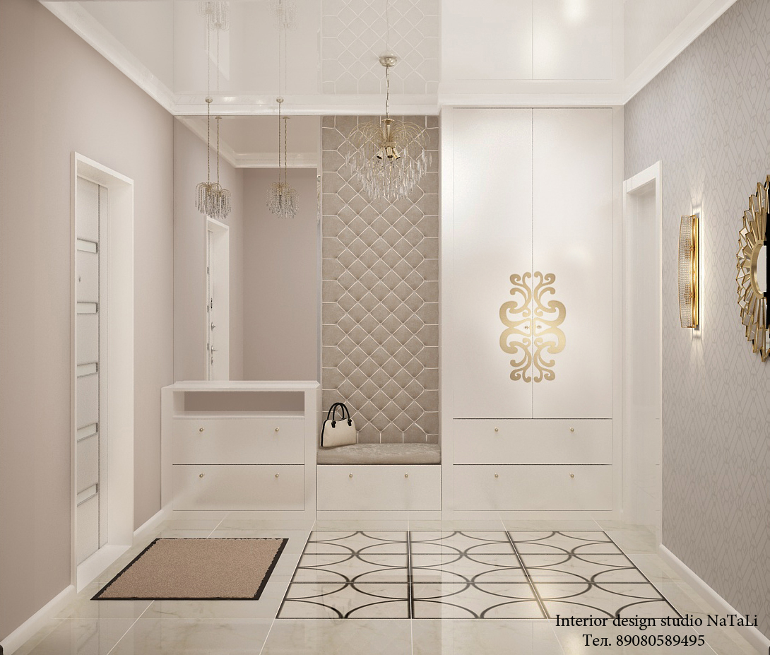 Дизайн интерьера холла, прихожей