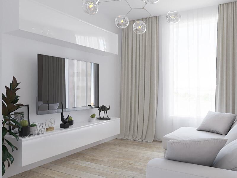 Дизайн-проект квартиры в ЖК «ГРИН ПАРК»
