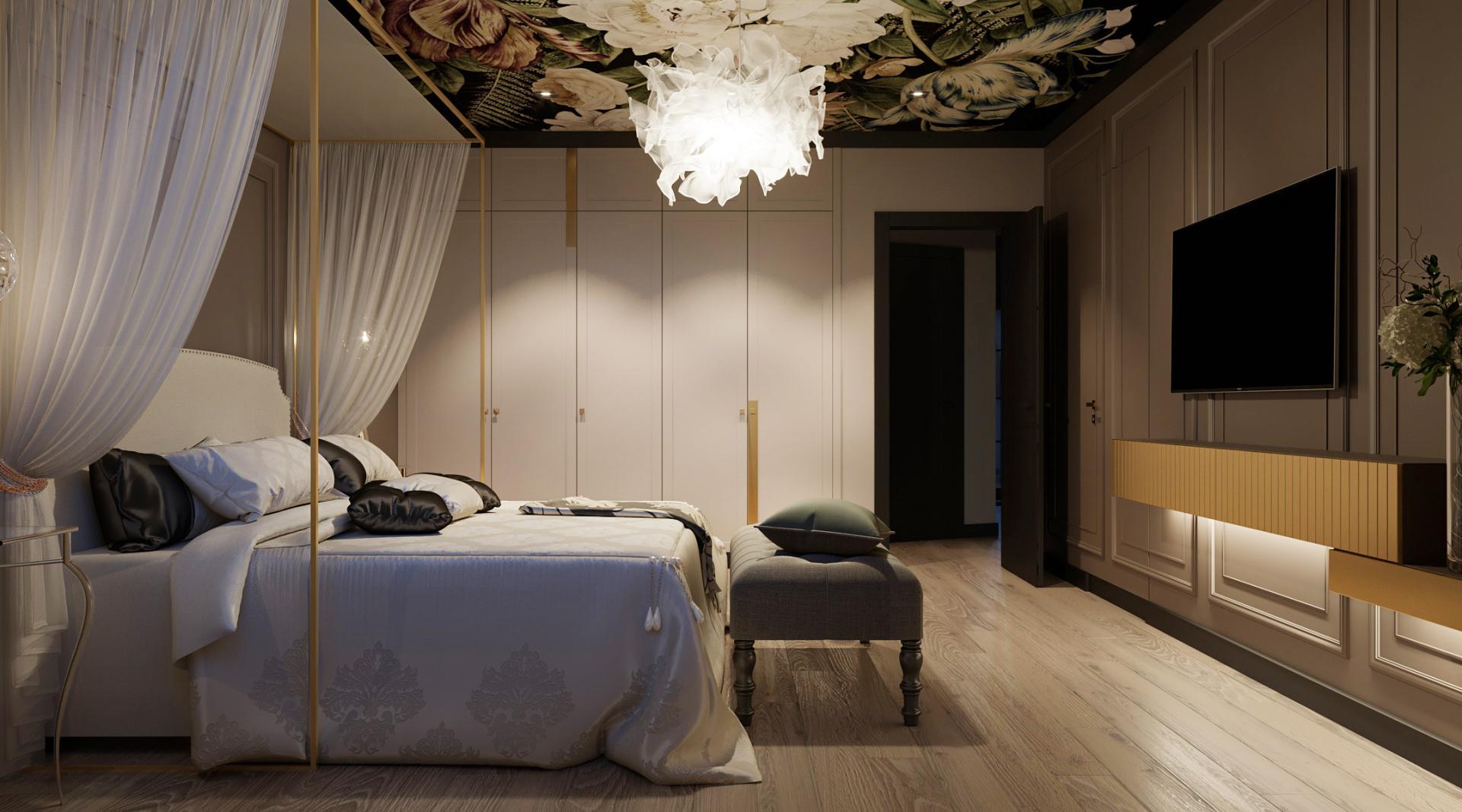 Дизайн интерьера дома в Малинках