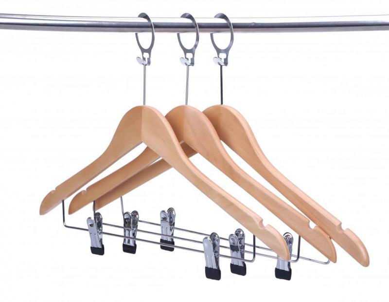 Антивандальные вешалки для одежды, как вариант предотвращения хищений