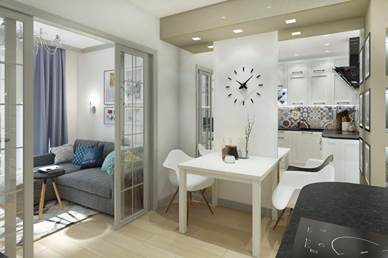 В каком стиле сделать ремонт маленькой квартиры?