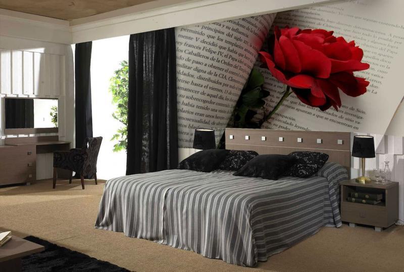 Обои для спальни 2017: как комбинировать правильно