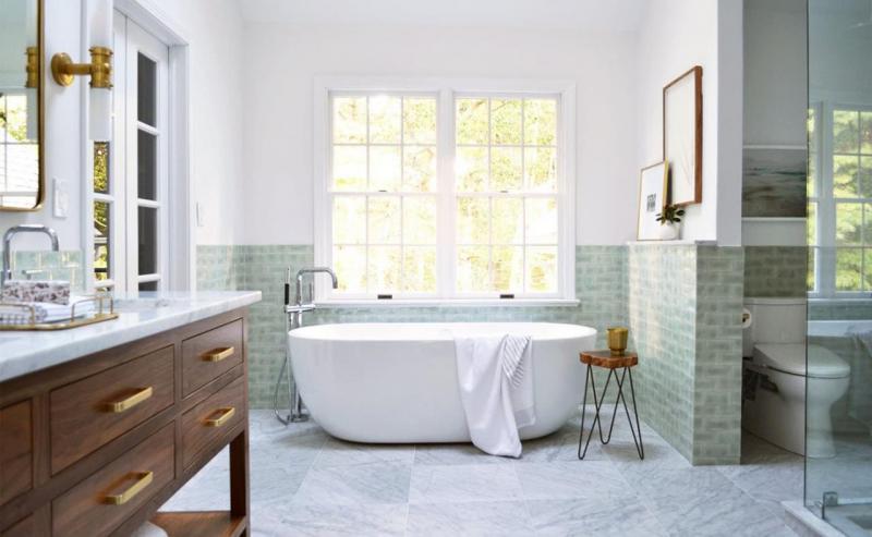 Дизайн ванной комнаты 2018: современные идеи (165 фото)