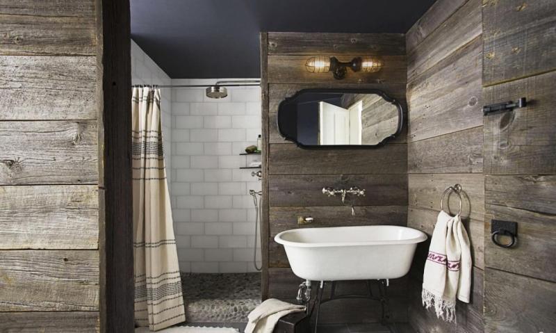 Вместо кафеля: 10 вариантов облицовки для ванной комнаты