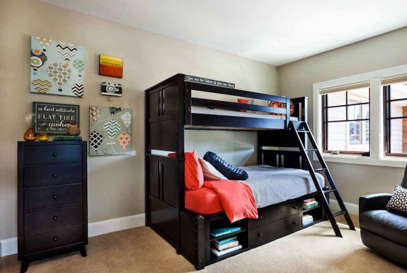 Дизайн детской комнаты для двух мальчиков - 80 фото интерьеров