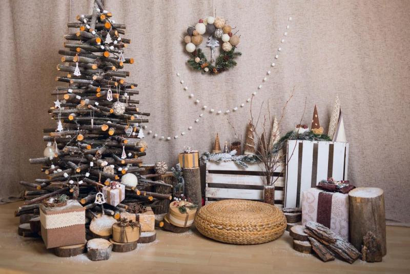 45 креативных новогодних ёлок