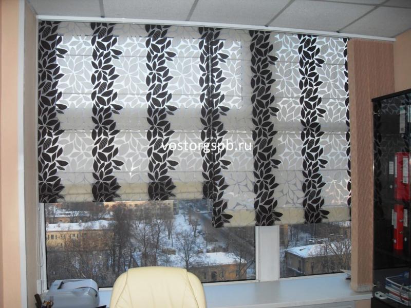 Пошив штор в Санкт-Петербурге по индивидуальным проектам