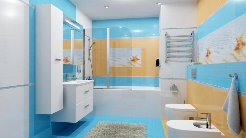 Выбор палитры для ванной комнаты