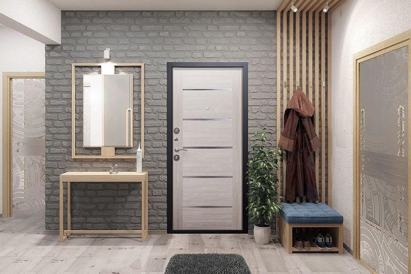 Металлическая дверь - а что внутри?