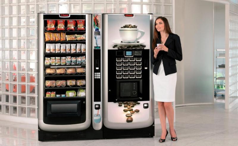 Преимущества кофейных автоматов б/у
