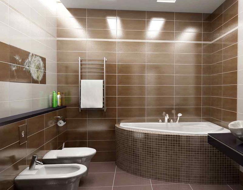 Пример ремонта ванной комнаты 6