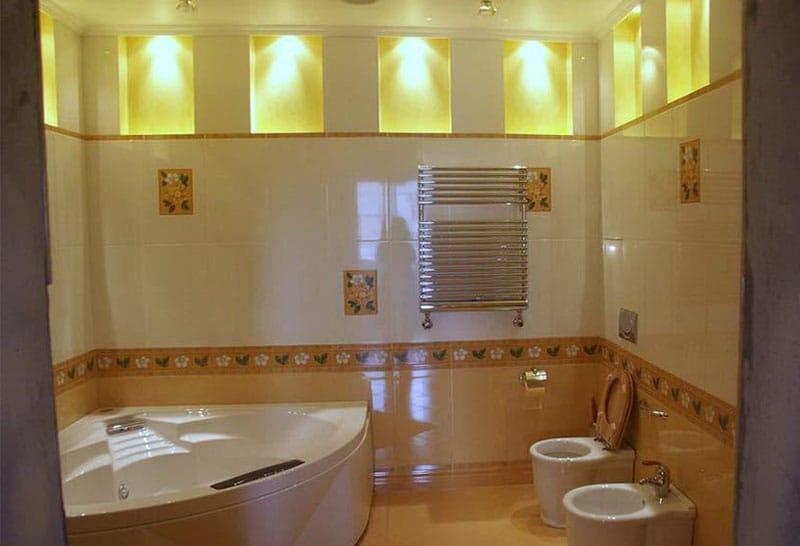 Дизайн современной ванной комнаты 3