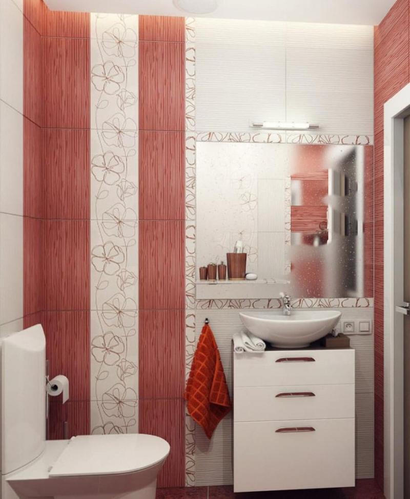 Дизайн ванных комнат отделанные плиткой