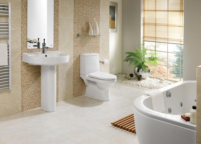 Интерьер ванной 1