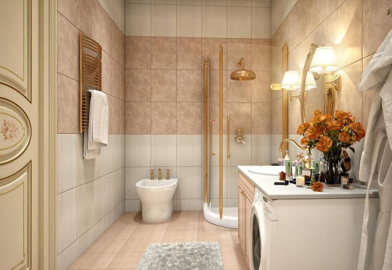 Интерьер ванной 4