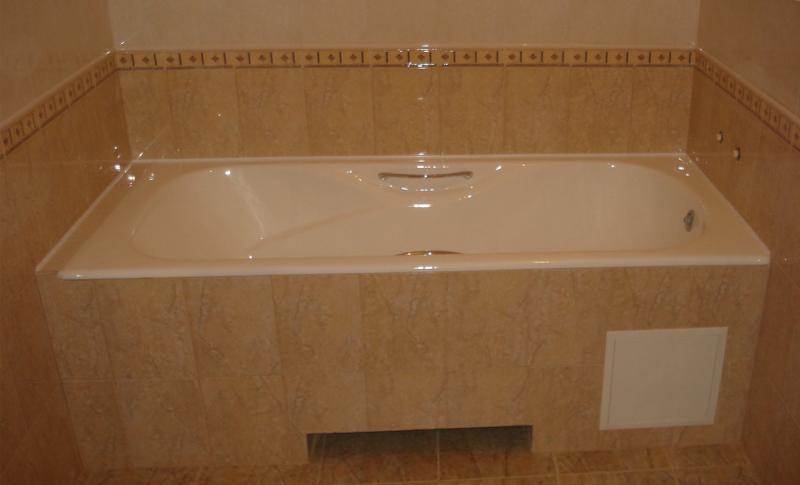Ремонт в ванной 1