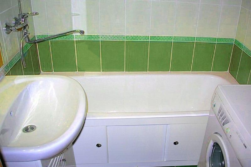 Ремонт в ванной 3