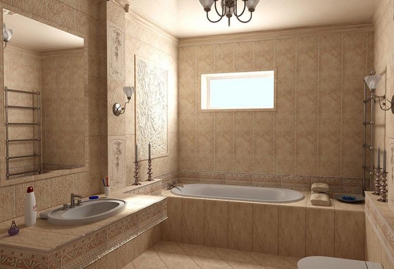 Ремонт в ванной 5