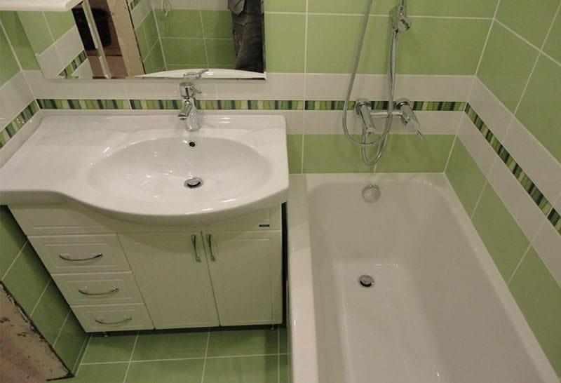 Ремонт в ванной 6