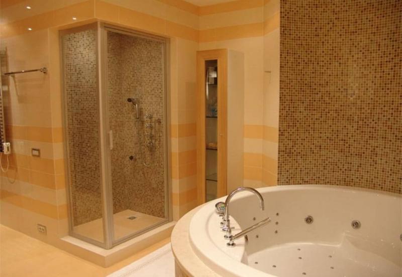 Ремонт в ванной 9