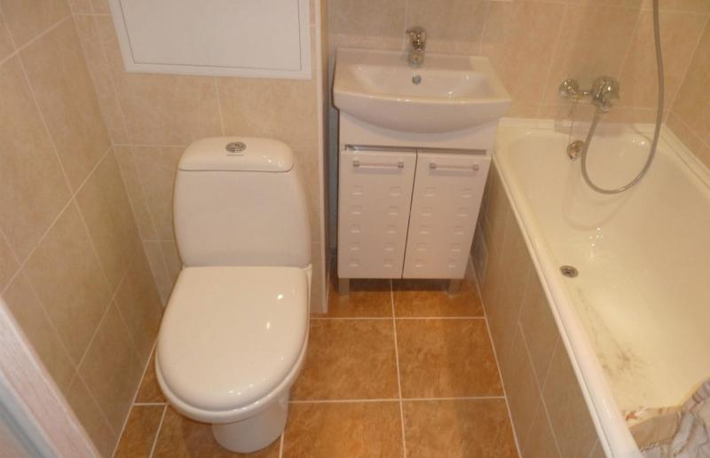 Ремонт в ванной 10