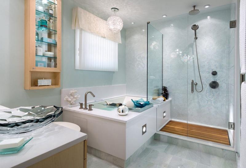 Совмещенная ванная комната дизайн