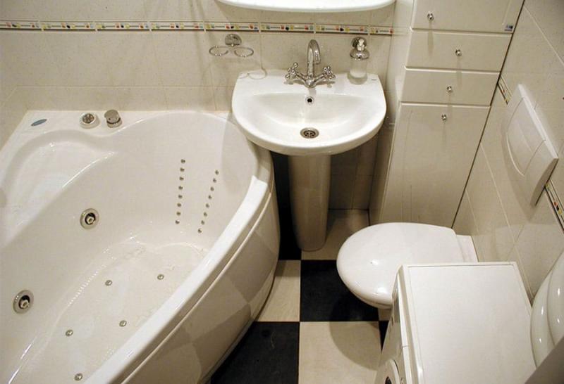 Пример ремонта ванной комнаты 2