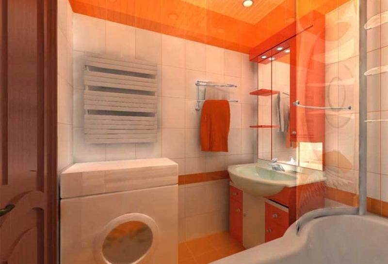 Пример ремонта ванной комнаты 7