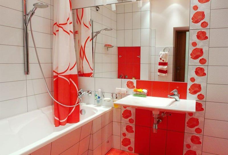 Пример ремонта ванной комнаты 8
