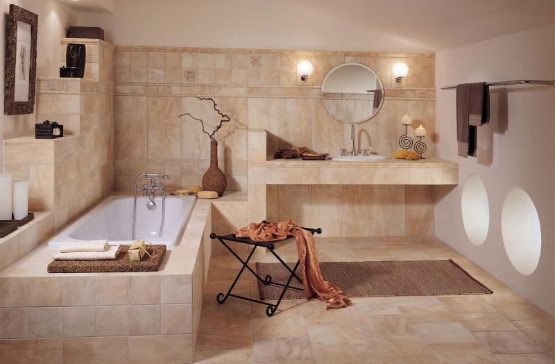 Пример ремонта ванной комнаты 9