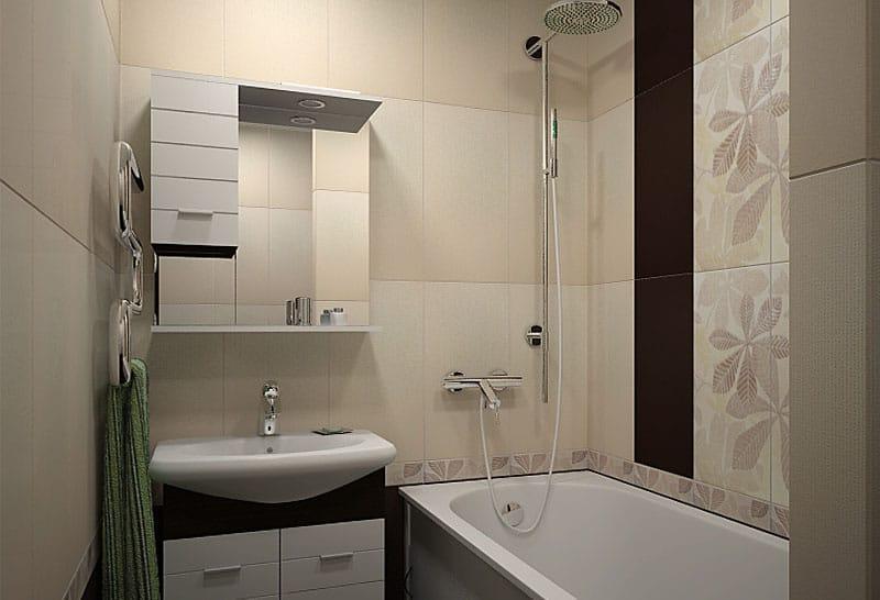 Пример дизайн ванной 2
